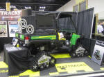 John Deere Gator with Mattracks Tracks