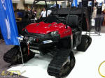 Camoplast Polaris RANGER on Tatou Tracks