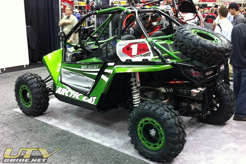Arctic Cat Wildcat - DragonFire Racing