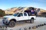 Saline Hot Springs- 2011 Ford F-350 Super Duty Lariat 4x4 Crew Cab