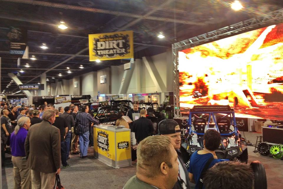 Dirt Theater at SEMA