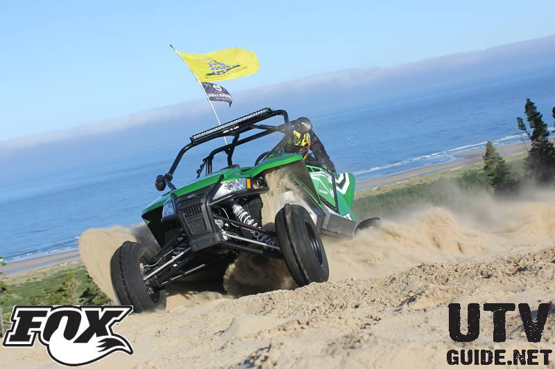 Arctic Cat Wildcat at DuneFest