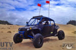 Long travel, big bore turbo charged Jagged X RZR XP