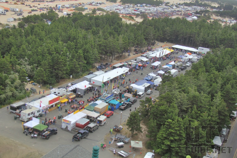 Vendor Area at DuneFest2014