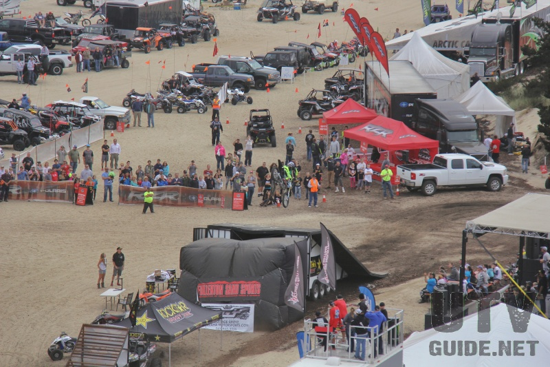 Aerial View of DuneFest