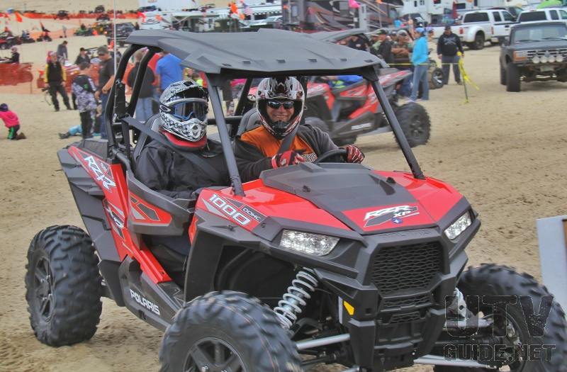 Polaris Demo Ride at DuneFest