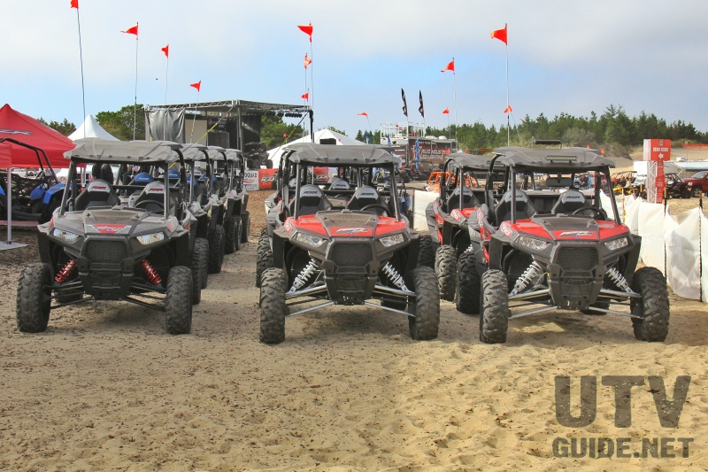 Polaris RZR Demo Rides at DuneFest