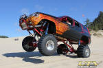 Blown Jeep Grand Cherokee at DuneFest 2011