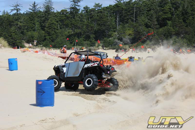 Polaris RZR XP - DuneFest Barrel Racing