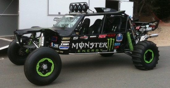 2011 ASA, Buckshot and Monster Energy Raffle Car