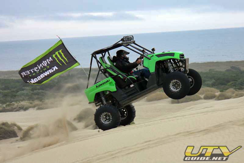 Monster Energy Kawasaki Teryx at DuneFest
