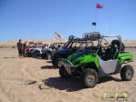 UTV in the dunes at Patton Valley