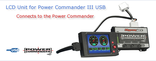 Power Commander LCD Unit