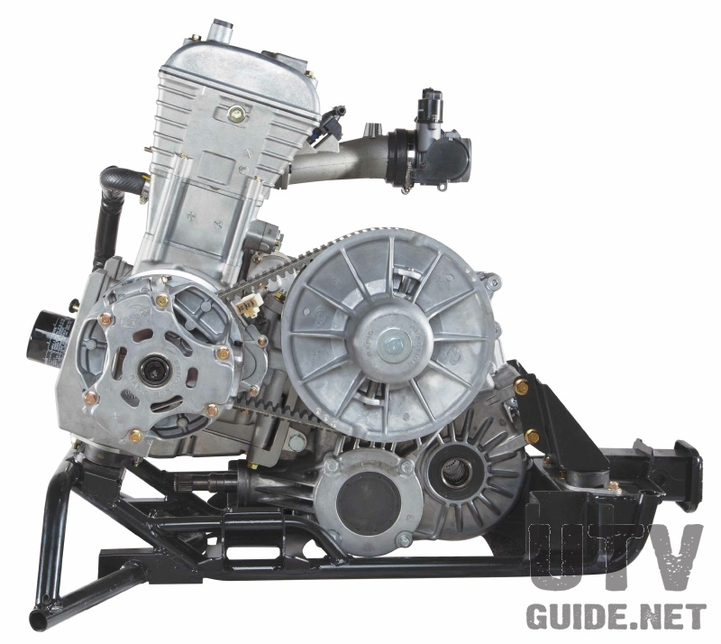 Wildcat Trail 700cc engine and Team Industries clutch