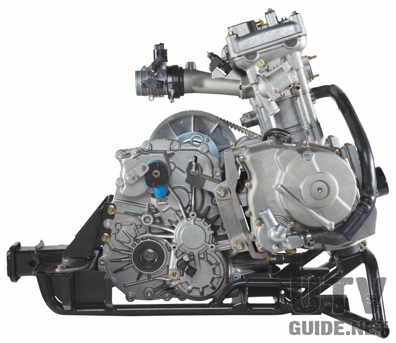 Arctic Cat Wildcat Trail Engine