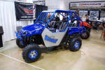 Long Travel Yamaha Rhino with 2 Seat Cage from SDR Motorsports