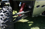 Long Travel Polaris RZR - Shock mount on lower arm