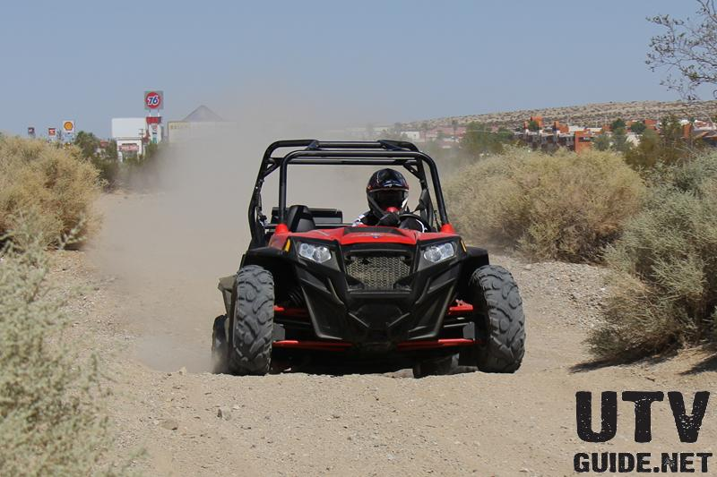 Polaris RZR XP with FOX 2.5 Podium X Shocks
