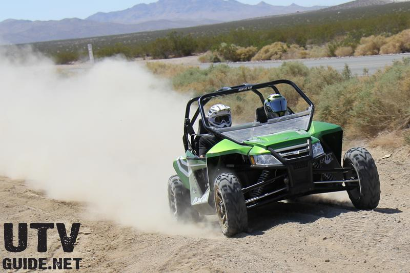 Arctic Cat Wildcat with FOX 2.5 Podium X Shocks