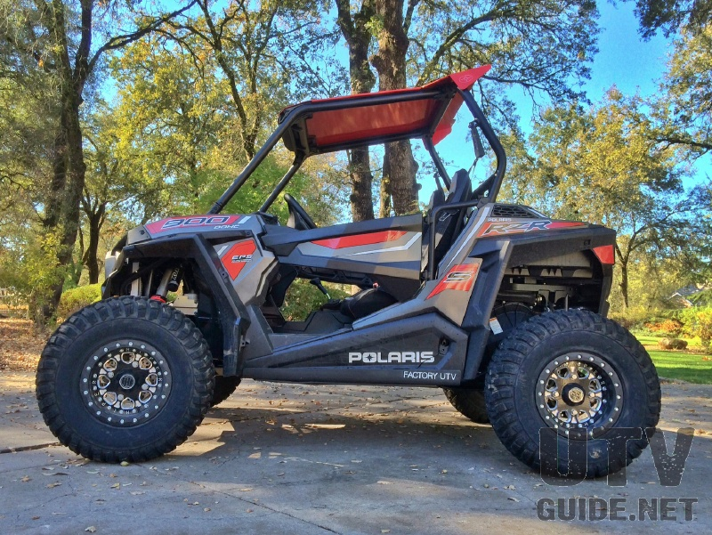 "RZR S 900 with 30"" Tires"