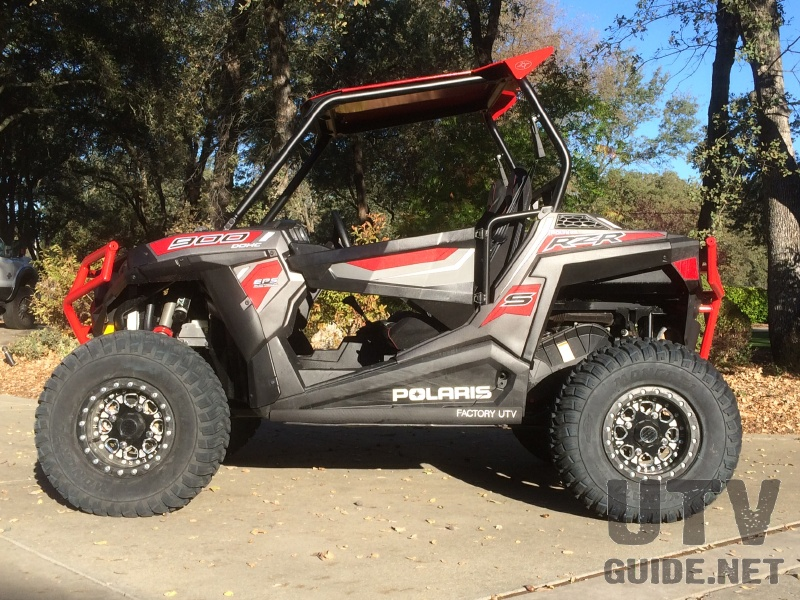 Polaris RZR S 900 with 50-inch RZR 900 flares