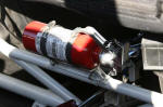 Sand Car Quick Release Fire Extinguisher Mount