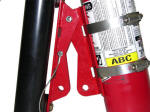 UTV Quick Release Fire Extinguisher Moun