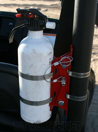 UTV Fire Extinguisher Mount