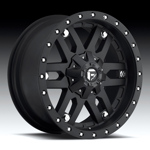Fuel Off-Road - Mojave Black Wheels