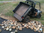 John Deere Gator XUV 825i with dump bed