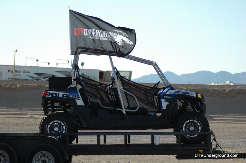 Polaris RZR 4 in Glamis