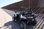 2010 Polaris RZR S at the US Border Fence - Imperial Sand Dunes