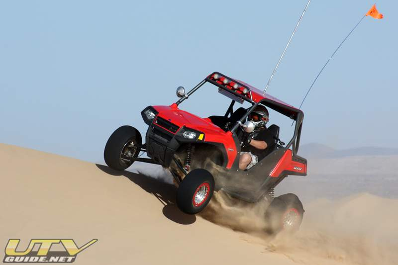 Todd's Polaris RZR in Glamis