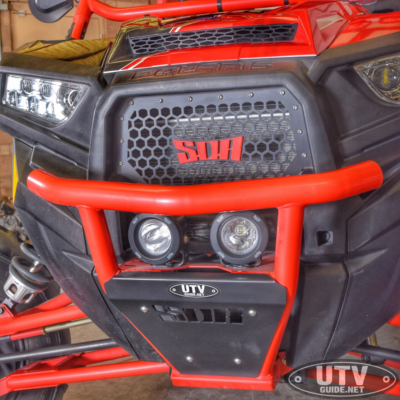 SDR Motorsports Bumper with Vision X Lights