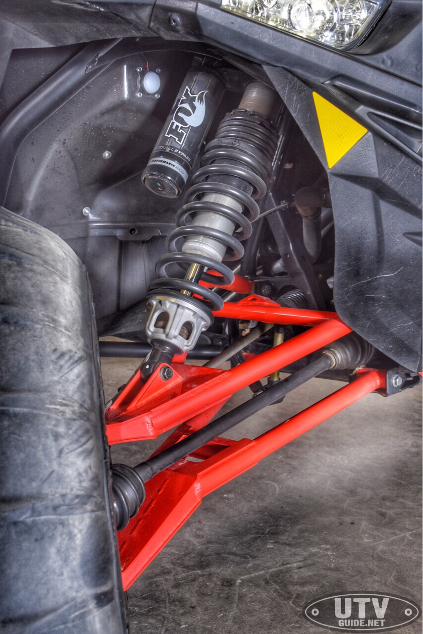 SDR Motorsports RZR XP Turbo HiBred Suspension