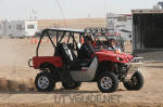 Two Seat Rhino with aftermarket Roll Cage - Glamis