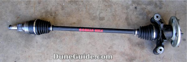 Gorilla Axle for Long Travel Rhino