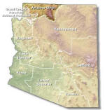 Arizona Strip Map