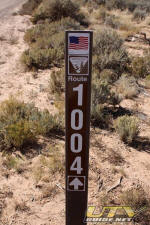 Road sign in the Parashant National Monument