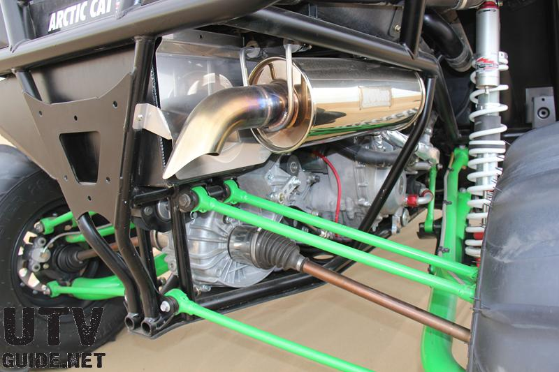 turbo-charged Z1 4-stroke EFI engine