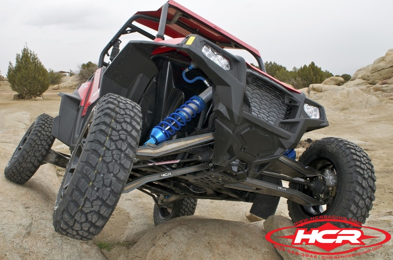 Polaris RZR XP with Long Travel Suspension