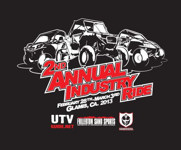 Annual UTV Industry Ride - Glamis