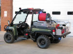 John Deere Gator XUV 855D 4x4 with Fire Skid from Kimtek