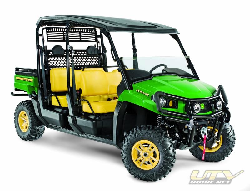 John Deere Gator XUV550 S4 4x4  UTV Guide