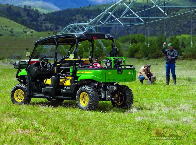 John Deere Utv >> John Deere Gator XUV550 S4 4x4 - UTV Guide