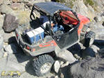 Polaris RZR XP coming down Elvis in Johnson Valley