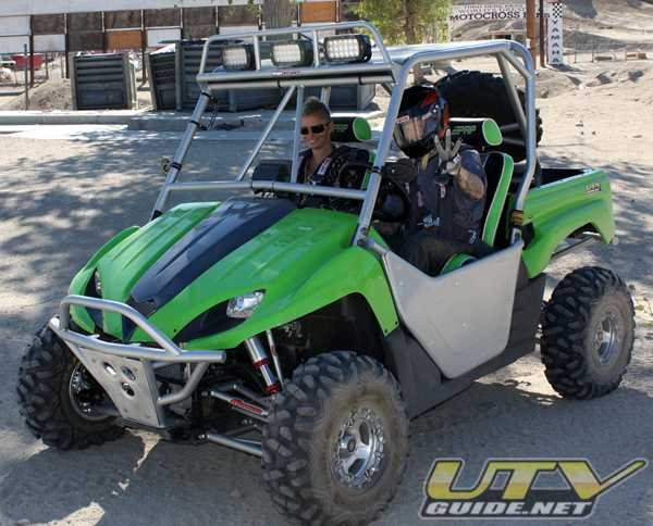 Kawasaki Battle of the Builders - Hank Williams III behind the wheel