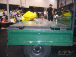 Kawasaki Mule with Flat Bed