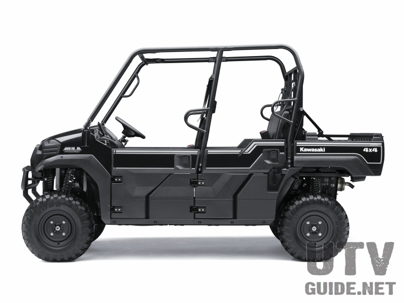 Kawasaki Mule Pro-FXT Super Black finish