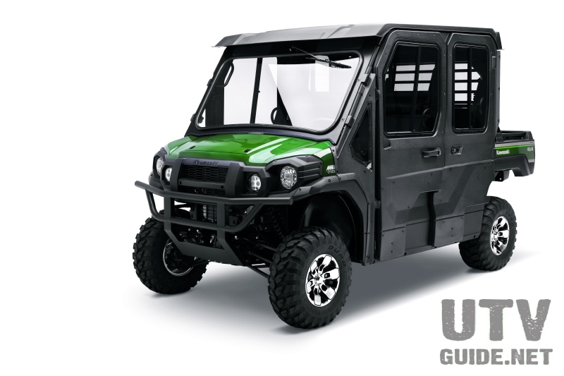 Kawasaki Mule Pro-FXT with Hard Cab Enclosure Package